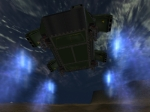 CC Dropship landing