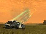 Rocket Terradynes attacking