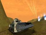 Rocket Terradynes using Hellfire Missles on Target